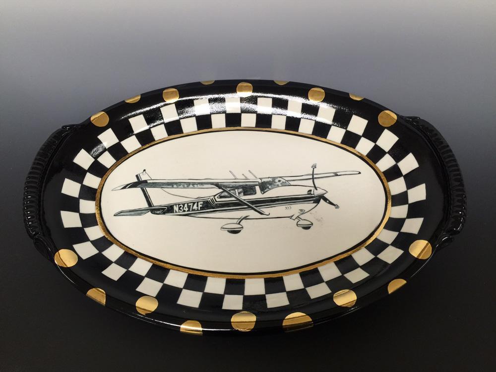 Baker Aircraft Platter