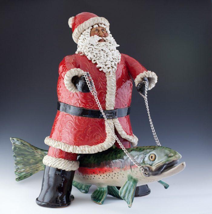 Santa and Trout