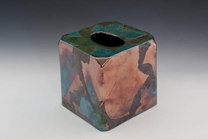 Raku Kleenex Box Cover
