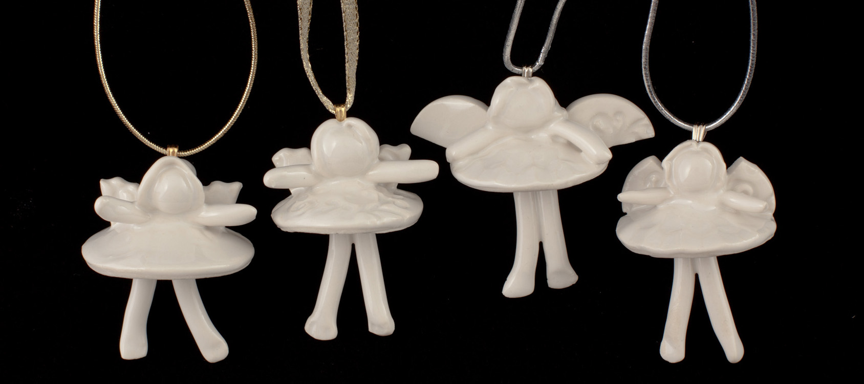 Porcelain Ballerina Angels