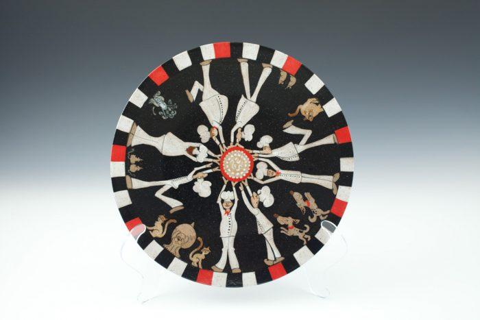 Cake Plate - Stoneware