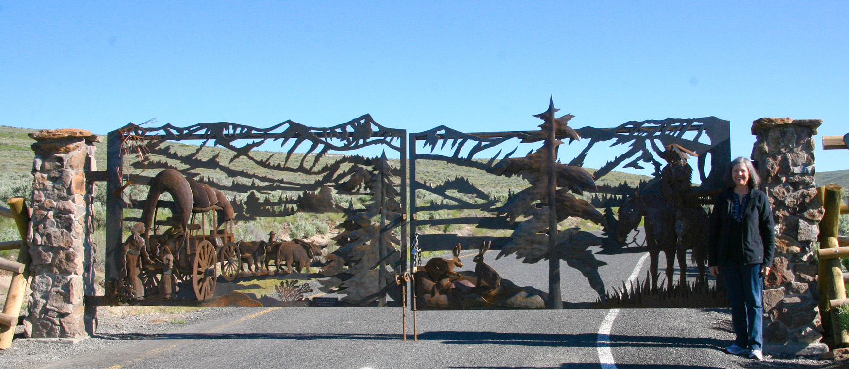Oregon Trail Gates