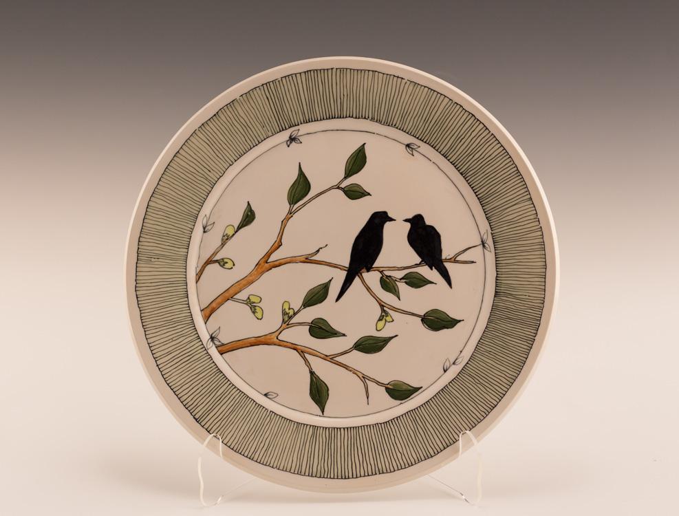 Lovebirds - Stoneware