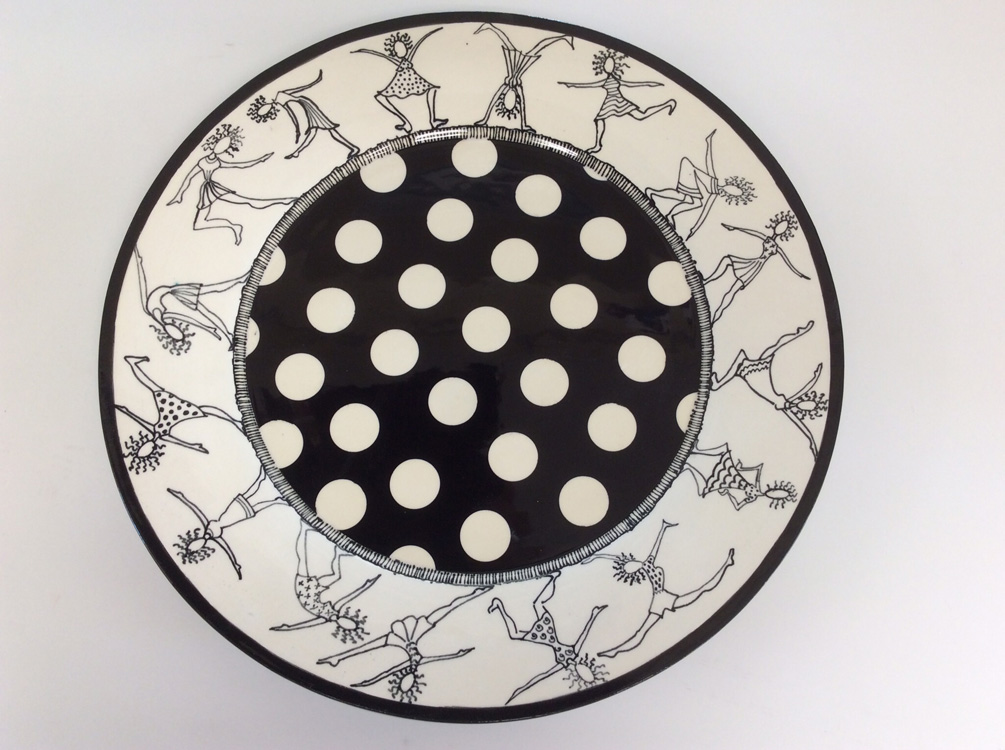 Life is a Dance Stoneware Platter