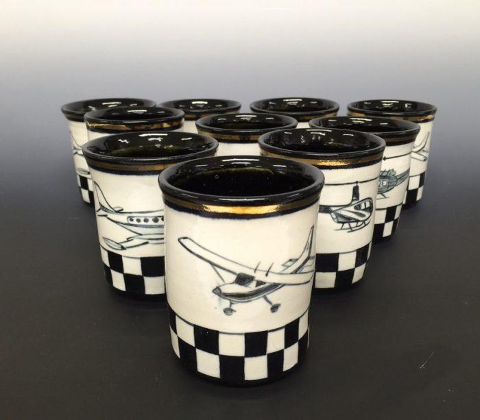 Baker Aircraft Cups